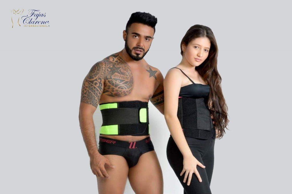 Cinturon unisex gimnasio Fajas clarena