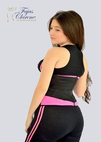 Cinturon gimnasio mujer Fajas Clarena